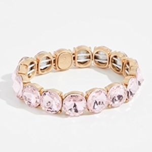 BaubleBar Large Crystal Statement Bracelet